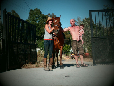 When you want to enjoy a horse ride in the Alpujarras come and meet our team
